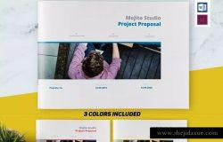 企业项目建议书/提案设计INDD模板 Project Proposal