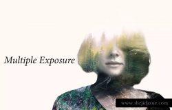 多种曝光照片效果处理PS动作 Multiple Exposure