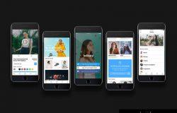 时尚电子商务在线购物平台移动手机APP UI工具包