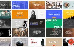 时尚社交媒体品牌宣传电子商务广告图banner海报PSD模板Social Media Banners 05