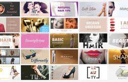 时尚社交媒体品牌宣传电子商务广告图banner海报PSD模板Social Media Banners 07