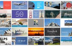 时尚社交媒体旅行度假电子商务广告图banner海报PSD模板Social Media Banners 08