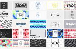 时尚社交媒体品牌推广电子商务广告图banner海报PSD模板Social Media Banners 09