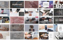 时尚社交媒体故事分享电子商务广告图banner海报PSD模板Social Media Banners 10