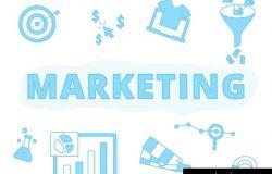 24个商业横幅SEO电子商务营销矢量插图设计素材