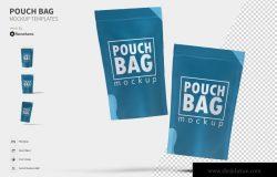 自封袋包装外观设计图样机 Pouch Bag – Mockup FH