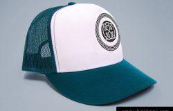T恤棒球帽模型贴图Trucker Cap+Tshirt mock-up