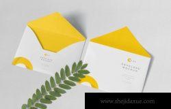 C5品牌设计展示信封样机下载
