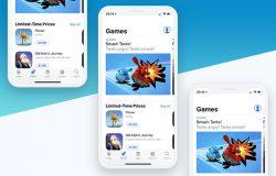 苹果系列产品iPhoneX iPhone8 iPad显示设备产品展示PSD贴图样机模型Smoooth Devices