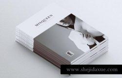 极简主义风格杂志设计模板
