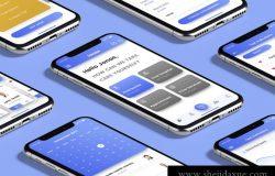 现代简洁医疗健康团队私人医生诊所移动iOS UI工具包Healer UI Kit