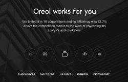 时尚现代公司投资项目企业创新解决方案幻灯片演示文稿Oreol Presentation