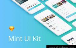 简洁登录注册演练社交导航消息多媒体移动iOS UI工具包Mint UI kit