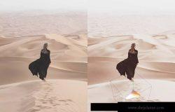 50款沙漠风景摄影调色滤镜LR预设