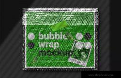 气泡薄膜包装设计效果图样机