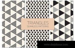 三角形几何背景纹理