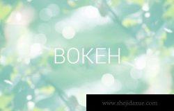 虚化背景纹理素材 Bokeh background