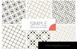 简单的几何无缝图案 Simple Seamless Patterns