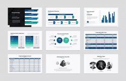 商业计划书介绍Powerpoint模板