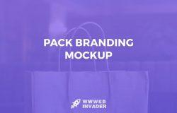包装品牌样机模板套装v1 Pack Branding Mockup