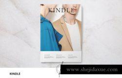 时尚男装杂志模板