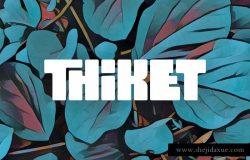 Thiket Typeface