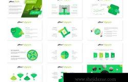 爱护保护环境主题PPT幻灯片设计模板 Environy Powerpoint