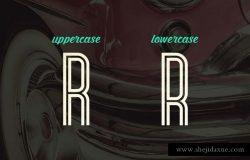 Bronco Typeface