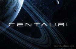 Centauri – Futuristic Font