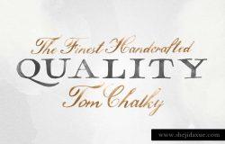 一款精致手绘英文字体Hamilton SVG Font Collection