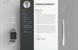 设计师特色简历模板 Resume