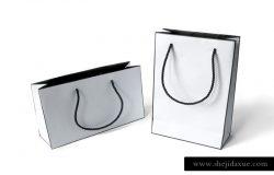 时尚纸袋礼品袋样机模板 Fashion paper bags mockups