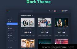 非常不错的2套Web网页后台管理界面UI工具包 Alaina Dashboard UI Kit