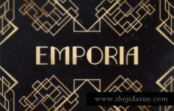 恩波里亚字体 Emporia Typeface