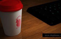 Paper Glass Mockup 纸杯品牌提案贴图模板