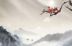6款精细的中式中秋节海报模板
