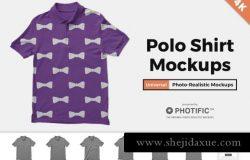 Polo衫样机 Polo Shirt Mockups