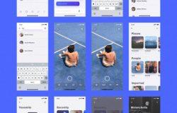 全套高端定制级基于Shift设计系统的iOS UI工具包 Mellow iOS UI Kit