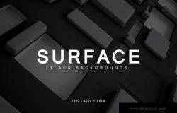 黑色立体几何图形高清背景素材