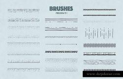 47款手绘画笔&图案AI笔刷合集 The Fairy Vector Brushes