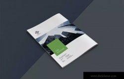高逼格企业宣传画册设计模板素材 Business Brochure Template