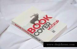 书籍封面设计样机模板