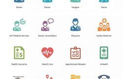 Sympa系列-医疗服务彩色图标集