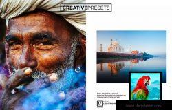 Vivid色彩模式创意摄影师照片调色LR预设下载 Vivid Color Lightroom presets