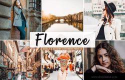摄影大师级照片后期调色LR预设下载 Florence Mobile & Desktop Lightroom Presets