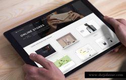简约iPad Pro平板电脑样机v3 iPad Pro Mockups v3