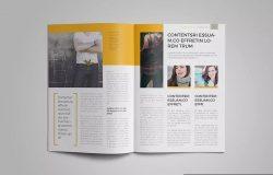 女性时尚主题杂志版式设计InDesign模板 InDesign Magazine Template