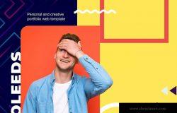 简历和个人网站设计HTML模板 Perfolio – Resume & Personal Website HTML Template