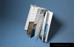 A4/A5宣传册目录产品手册样机 A4/A5 Brochure-Booklet Mockups