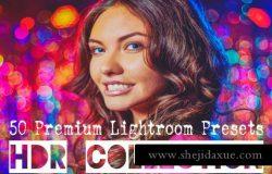 时尚人像与场景滤镜人像预设hdr-lightroom-presets